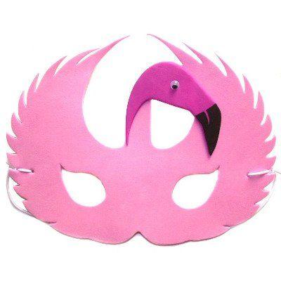 flamingo pink face maske f r kost me design masquerade flamingo pinterest masken pink. Black Bedroom Furniture Sets. Home Design Ideas