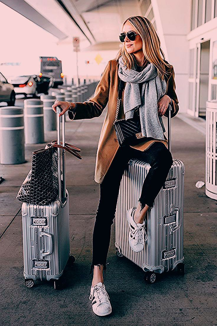 Photo of 41 Cute Travel Outfits To Wear On All Your Getaways