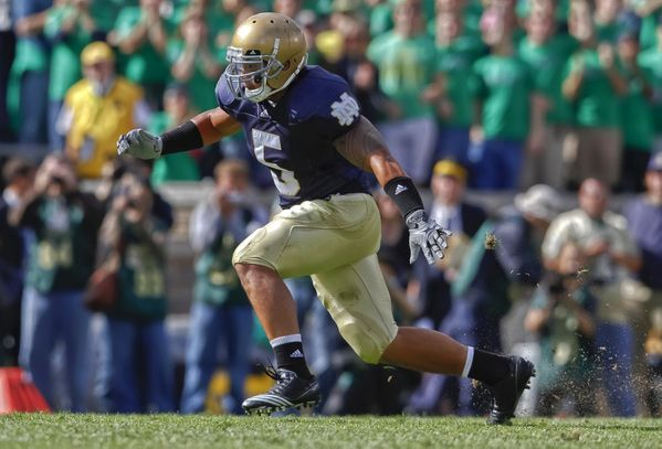 Manti Te'o, University of Notre Dame.
