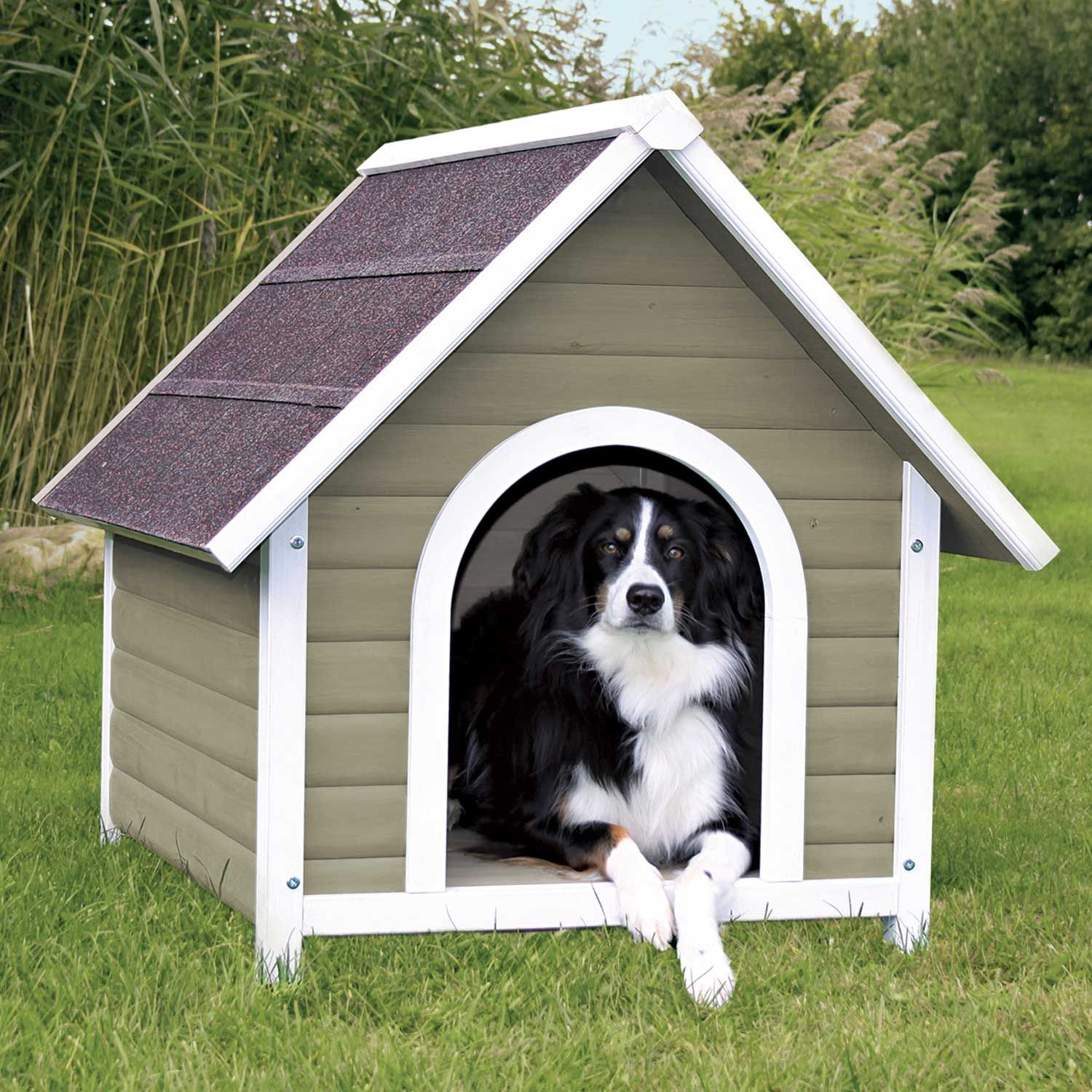 Trixie Natura Nantucket Dog House 35 5 L X 37 5 W X 42 H