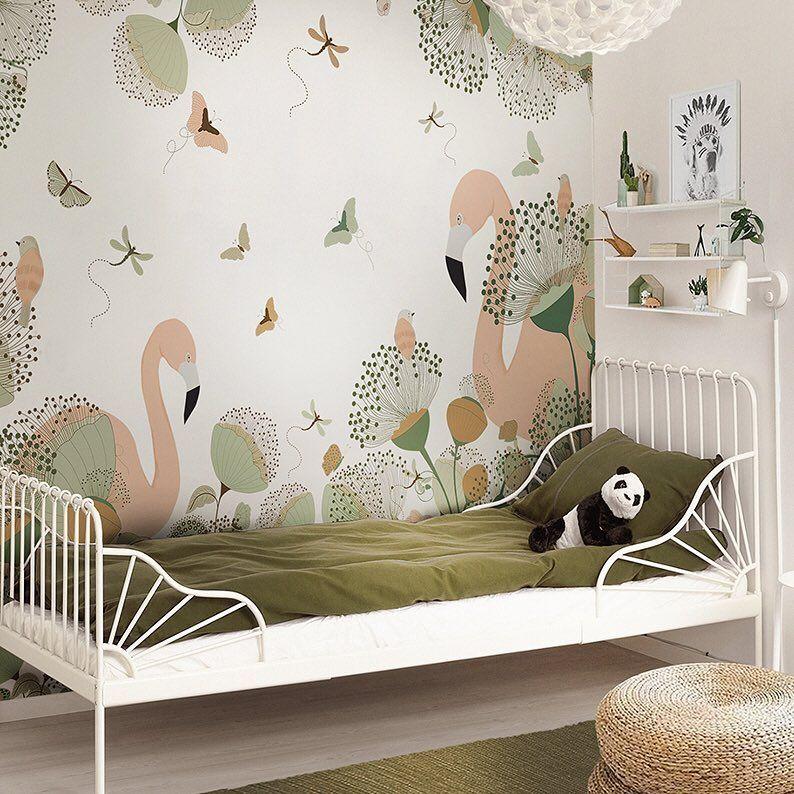 Le papier peint Little Hands pour les chambres denfants