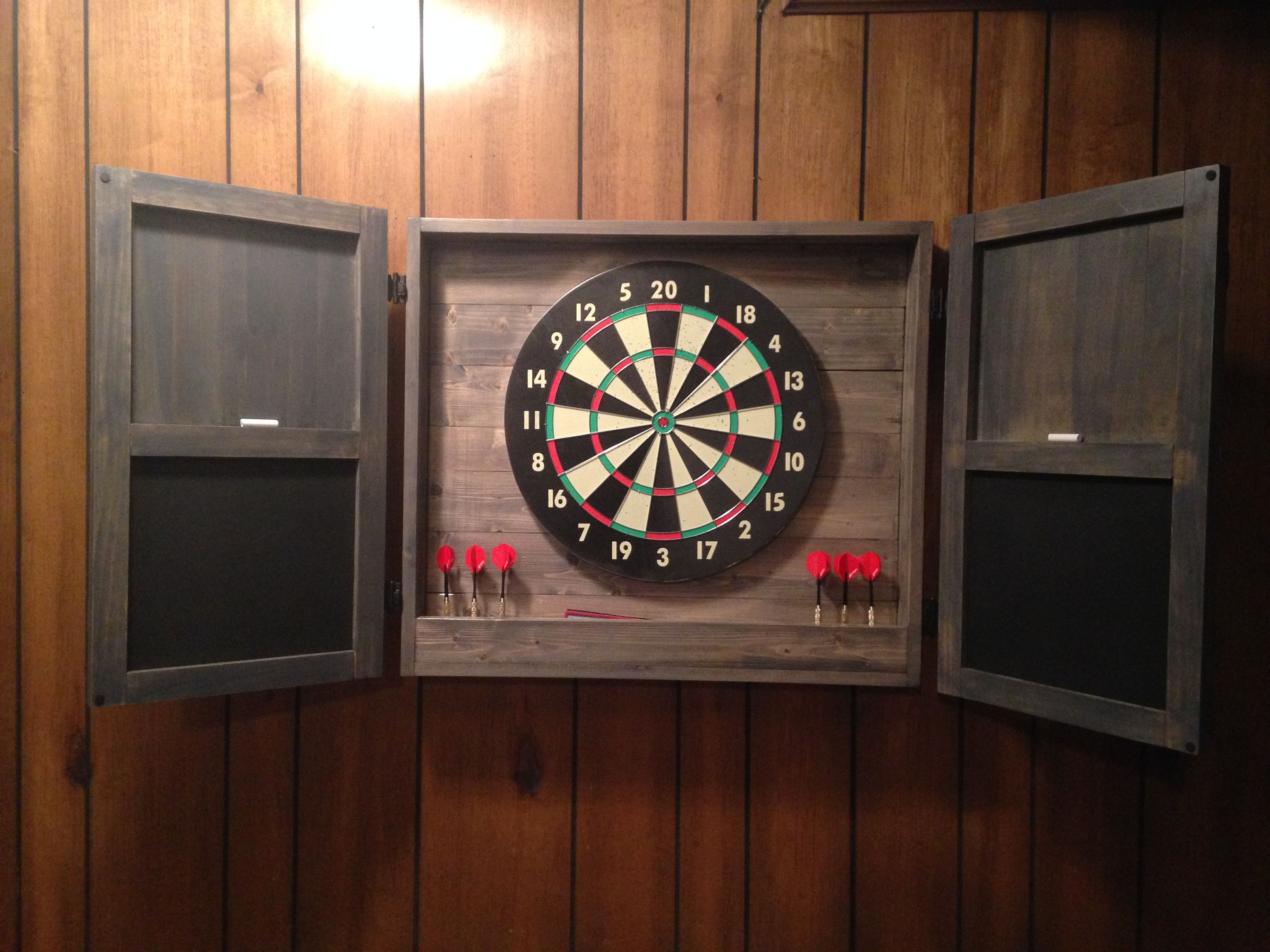 Ana White Dartboard Cabinet Diy Projects