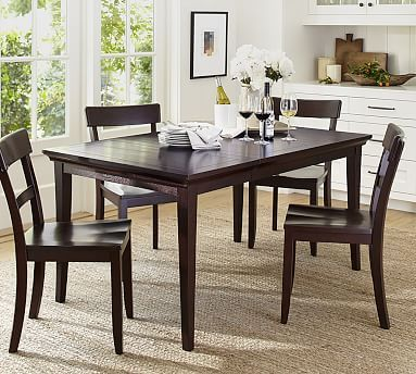 Metropolitan Extending Dining Table #potterybarn  For The Home Endearing Dining Room Tables Pottery Barn Inspiration