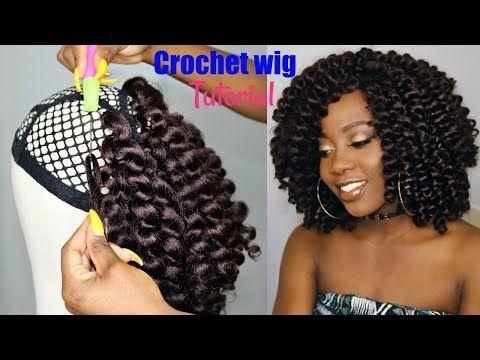 how to make a crochet wig beginner friendly tutorial