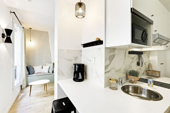 Photo petite cuisine  ces 19 petites cuisines qui ont du charme