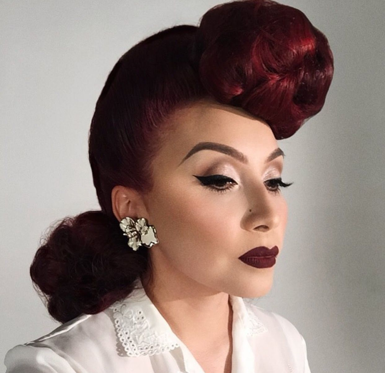 """iconic pachuca looks"""" hair by his vintage touch.   latinas"""
