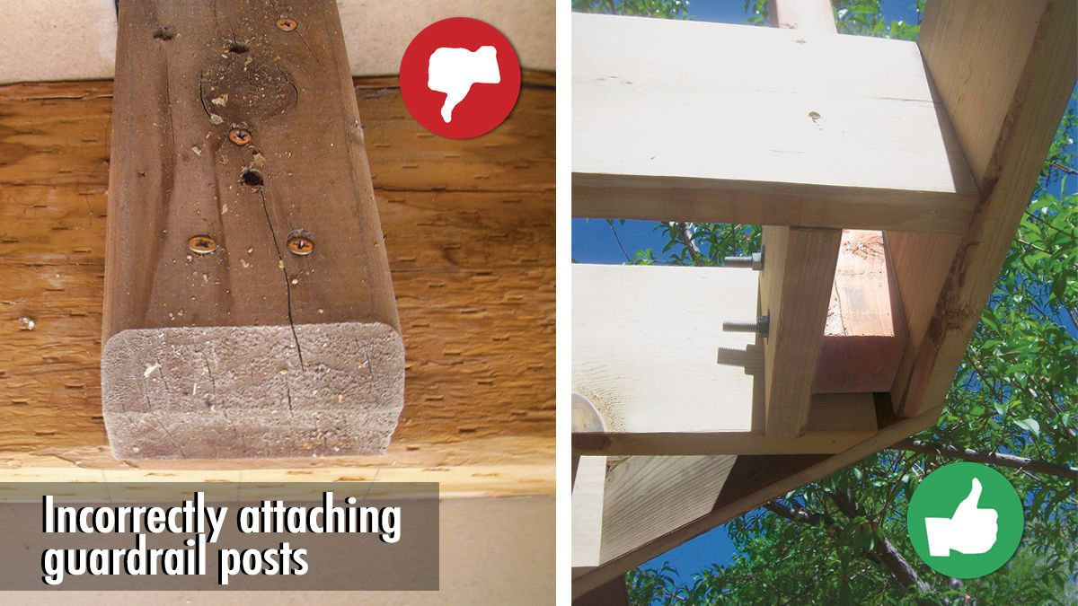 Top 10 Deck Building Mistakes Building A Deck Diy Deck Deck Framing