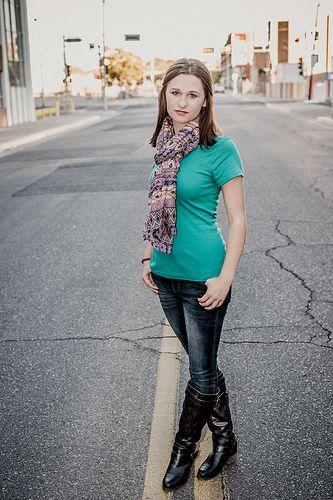 Olivia - Senior Portrait - Downtown Albuquerque