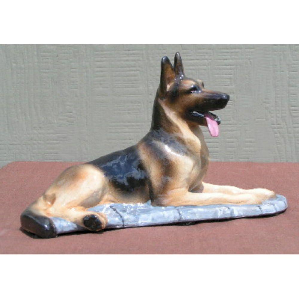 Hevener German Shepherd Dog Figurine   Home   Home Decor   Decorative  Accents   Indoor Statues