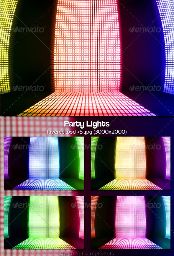 Party Lights Party lights, Party, Stage background