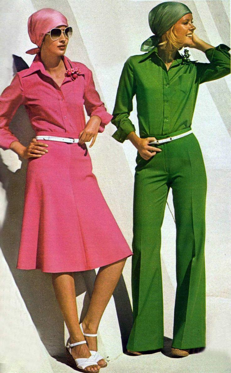 1970s Fashion 70er Kleidung 70er Mode 70er Jahre Mode