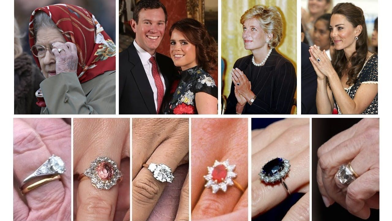 From The Queen Mother To Princess Eugenie British Royal Family S Engag Royal Engagement Rings Princess Eugenie Engagement Ring Family Engagement Ring