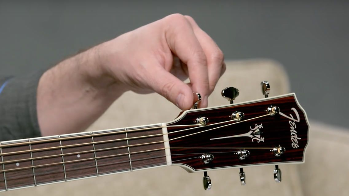 How to Tune Your Acoustic Guitar Guitar, Acoustic guitar