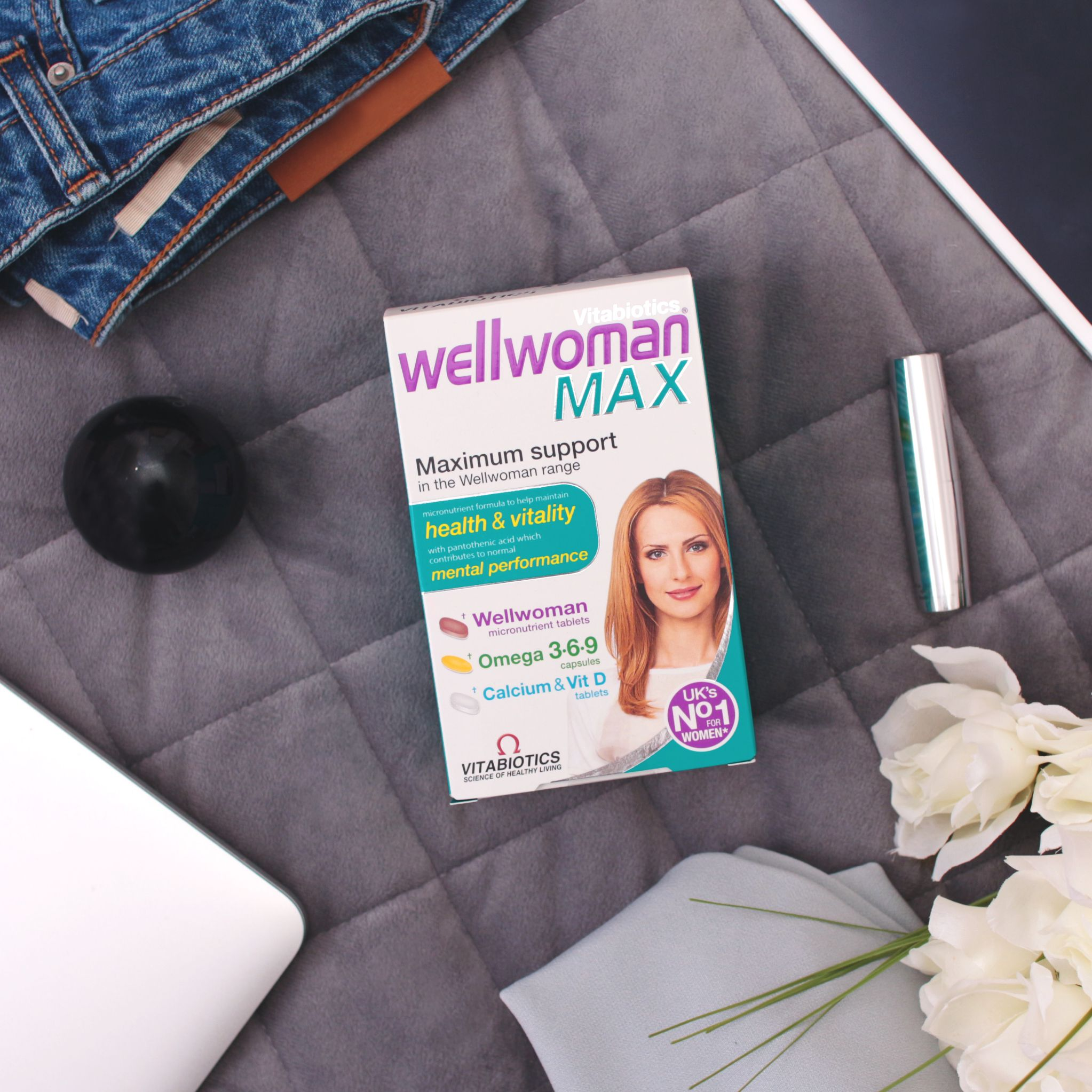 Wellwoman Max Vitamin B1 Vitamins