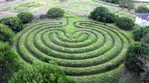 Labyrinth created by Alex Champion in 1987. This is the summer ... on