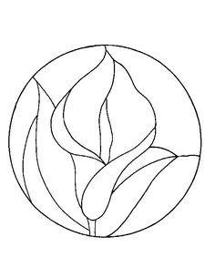 Resultado de imagen para dibujos de flores de calas para for Dibujos para mosaiquismo