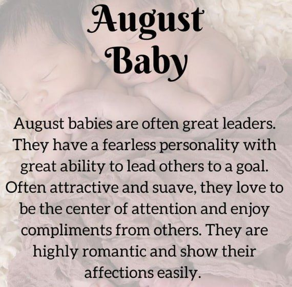 Interesting Facts About People Born In August, Love Life ...