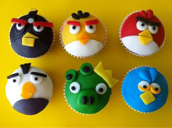 Video Game Cupcakes Angry Birds 2 | bak-goesting - Angry ...