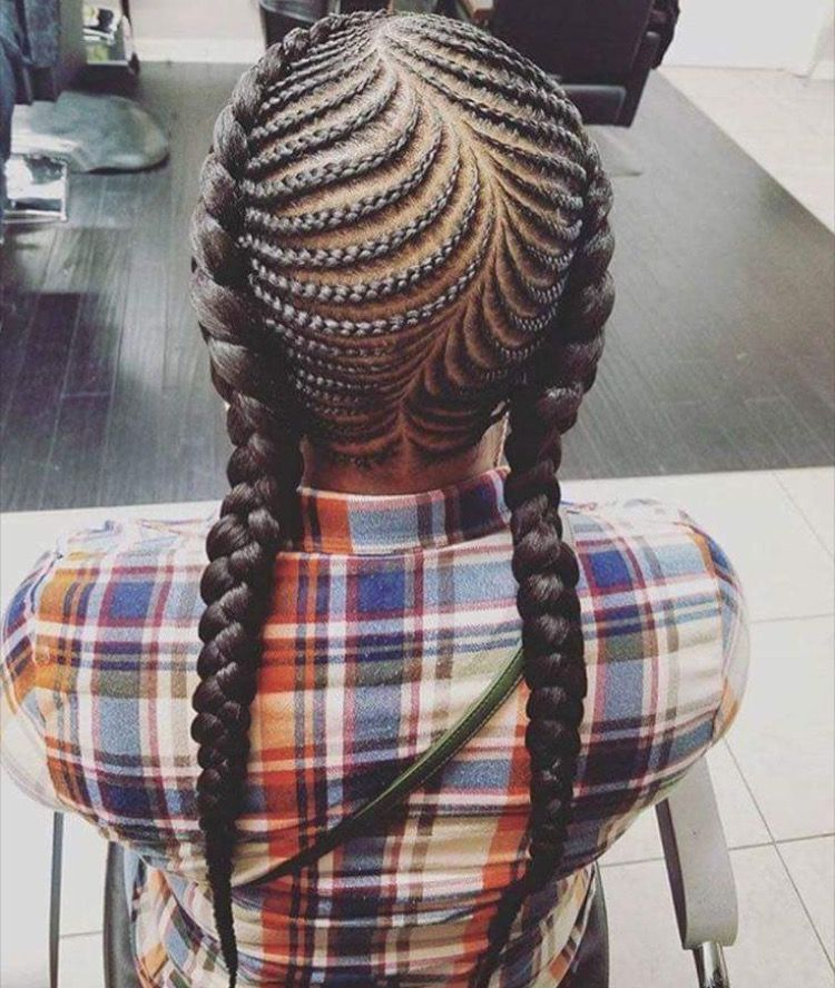 Fish Bone Braids Natural Hair Styles Cornrow Hairstyles Braids For Kids
