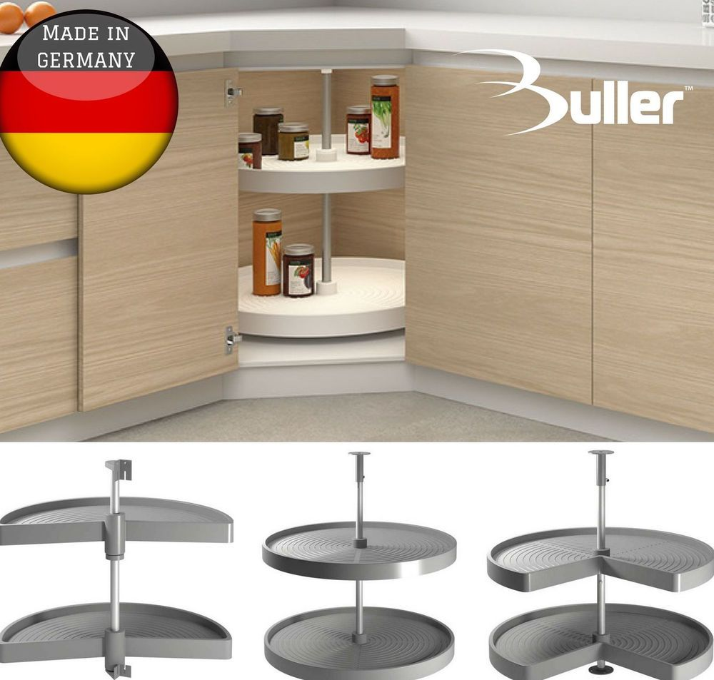 Best Details About Kitchen Corner Unit Carousel Solid Base 640 x 480