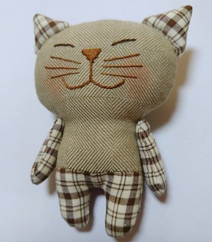 kitty, sew kitty, toy kitty