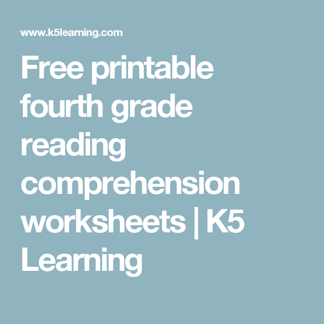 Printable Fourth Grade Worksheets Choice Image - worksheet for kids ...