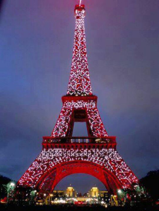 Eiffel Tower at Christmas Holidays Pinterest Tower and Holidays