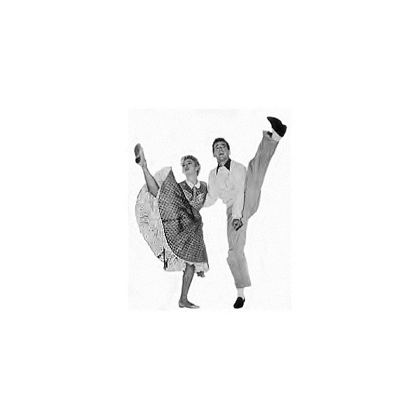 East Coast Swing Dance |Eastern Swing |the New Yorker ❤ liked on Polyvore featuring dance, black and white and people