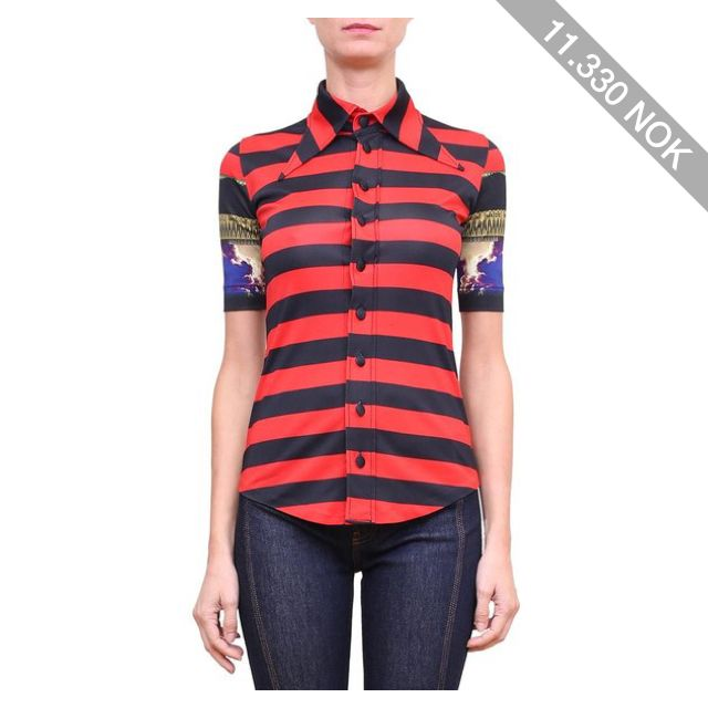 Givenchy Mandala jersey polo-shirt