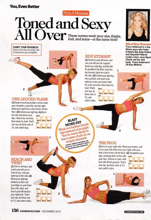Tracy Anderson Workout, Tracy Anderson