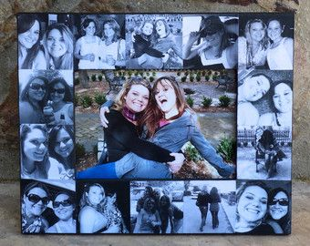 Best Friend Gift Unique Sister Gift Bridesmaid Collage Picture