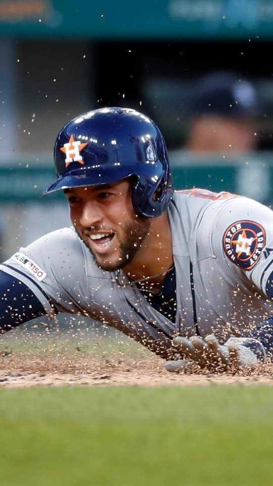 4 Springer 💙⚾️🧡 Astros, Houston astros, Minute maid park