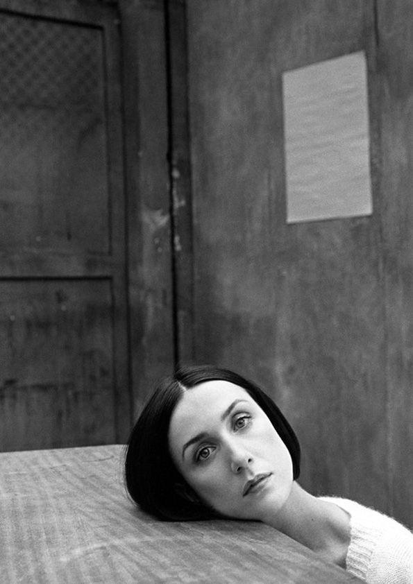 Elsa Sylberstein by Kate Barry.