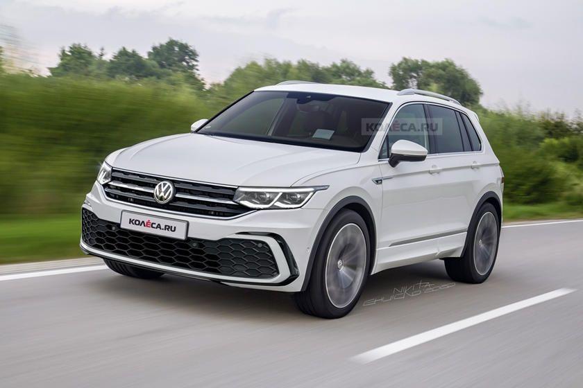 Volkswagen Tiguan Facelift In 2020 Tiguan Vw Tiguan R Volkswagen