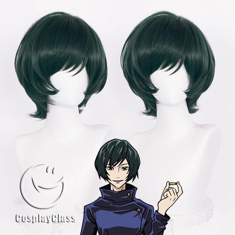 Jujutsu Kaisen Zen In Maki Short Hair Cosplay Wig Cosplayclass Short Hair Styles Cosplay Wigs Wigs