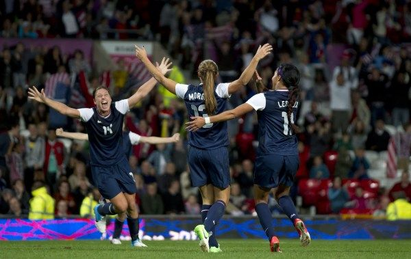The U.S. soccer team, after trailing three different times, beat Canada, 4-3, on a last-second goal by Alex Morgan. Next up: a gold-medal rematch against Japan. Is women's soccer the most exciting team in America? http://ti.me/O3aBny