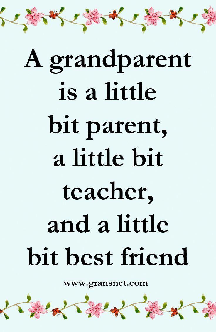 Grandparenting quotes | Grandparents quotes, Grandaughter ...