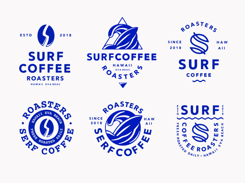 Photo of Surf Coffee Type Explorations –  Surf Coffee Type Explorations by Evgeny Tutov  …