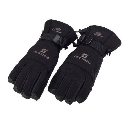 #Docooler Men Winter Windproof Waterproof Warm Gloves Outdoor Cycling Skiing Hiking Black $11.79