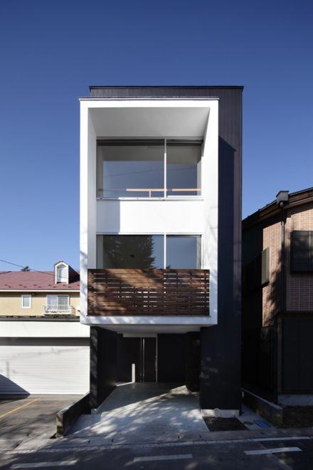 外観 3階建て Image 住宅 外観 住宅建築 ファサード デザイン