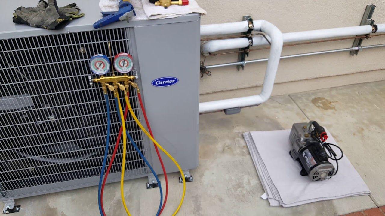 Carrier Slim Line Condenser Air conditioning system