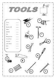 Tools at EnchantedLearning.com