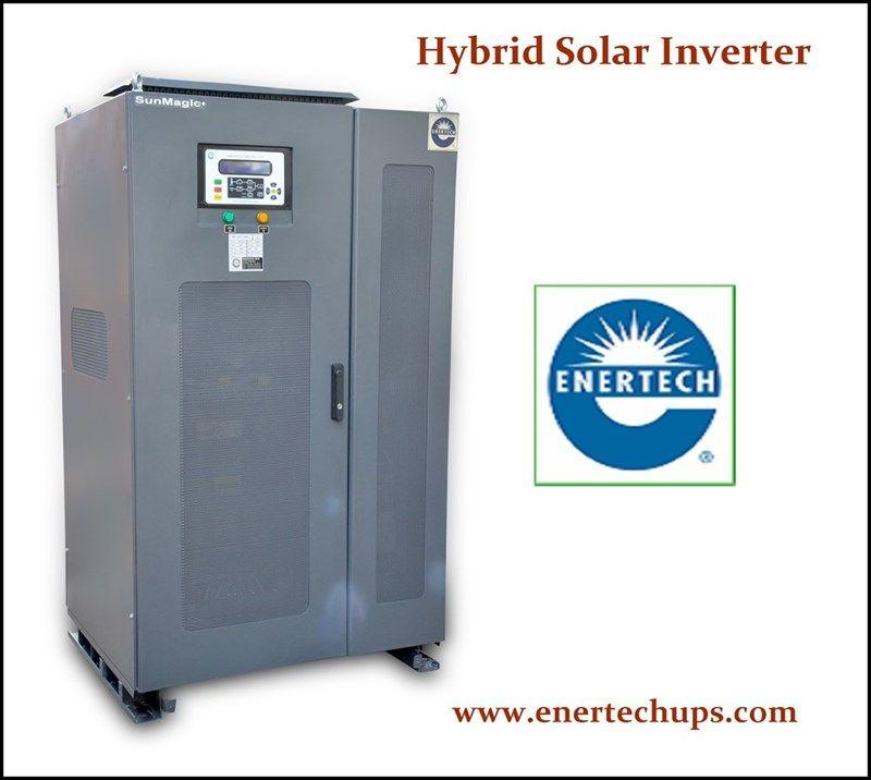 Enertech Are Mnre Approved Solar Hybrid Inverter Manufacturer And Is Leading Brand In Solar Inverter Companies In India In 2020 Solar Inverter Locker Storage Solar
