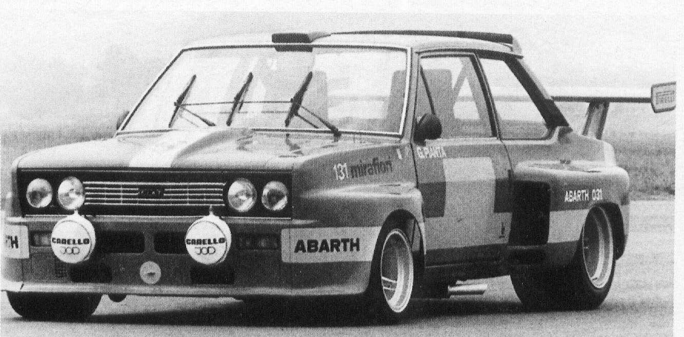 Fiat 131 Auto Storia Storico