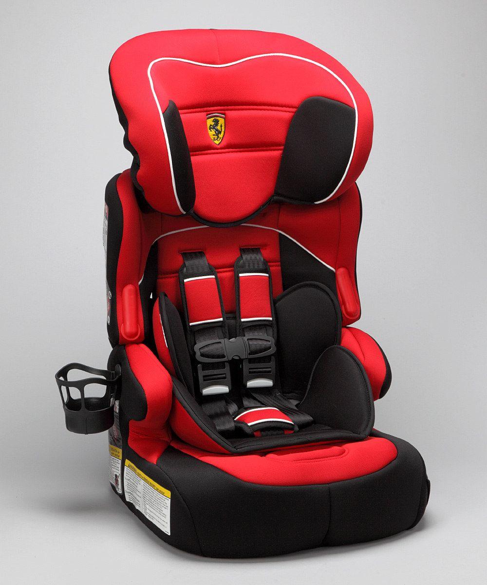 FERRARI Red Beline Toddler Car Seat