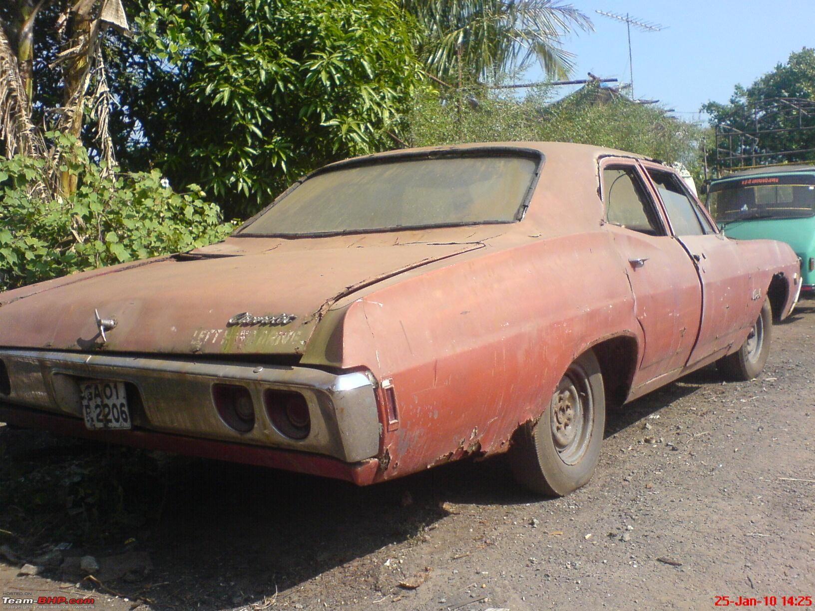 classic cars rotting   ... Pieces... Pics of Disintegrating Classic ...
