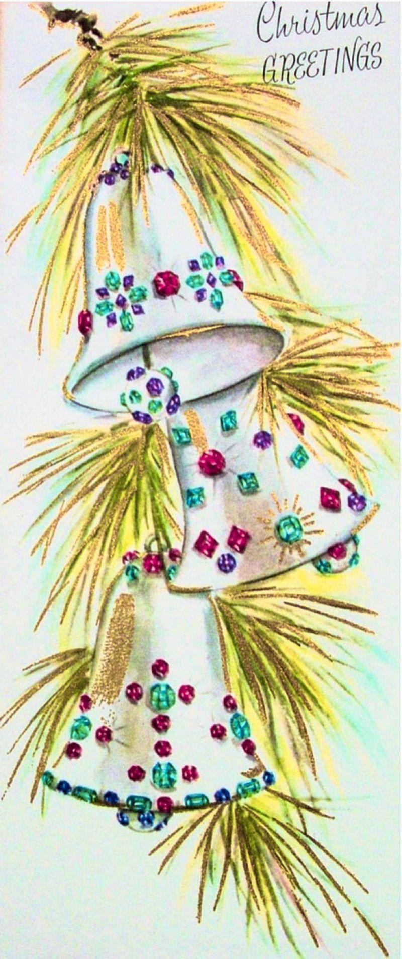 Jeweled bells.