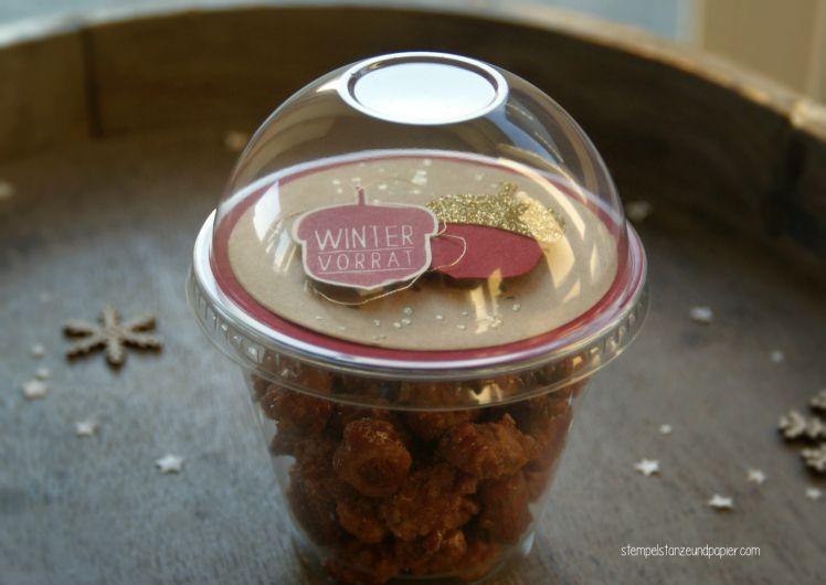 Gebrannte Mandeln Im Dombecher | Selber Machen Geschenk, Gebrannte
