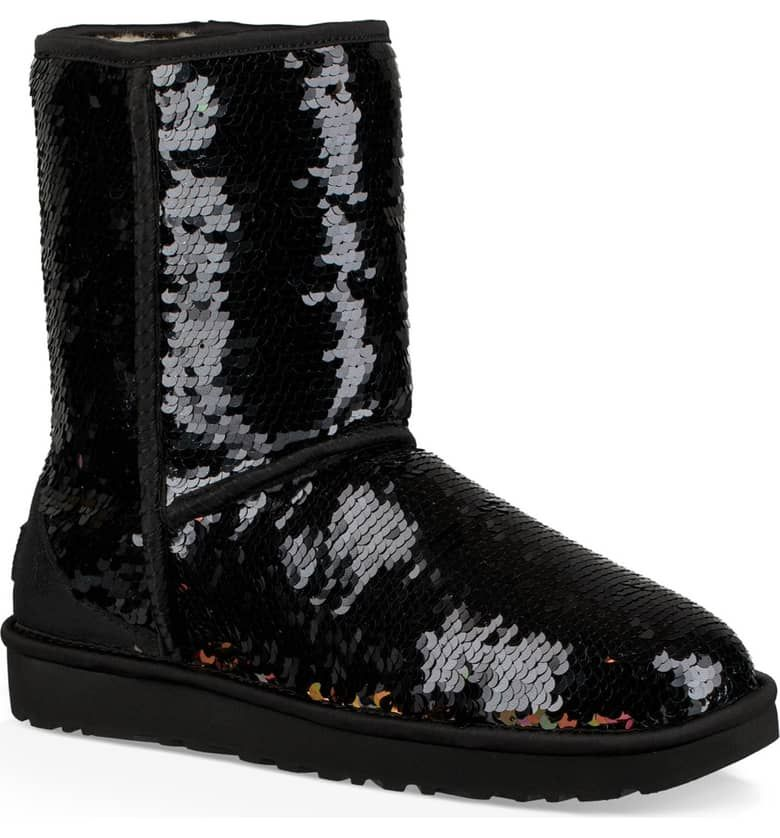 Sequin boots, Ugg boots