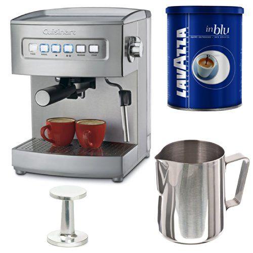 Cuisinart Em 200 Programmable 15 Bar Espresso Maker With Tamper 50